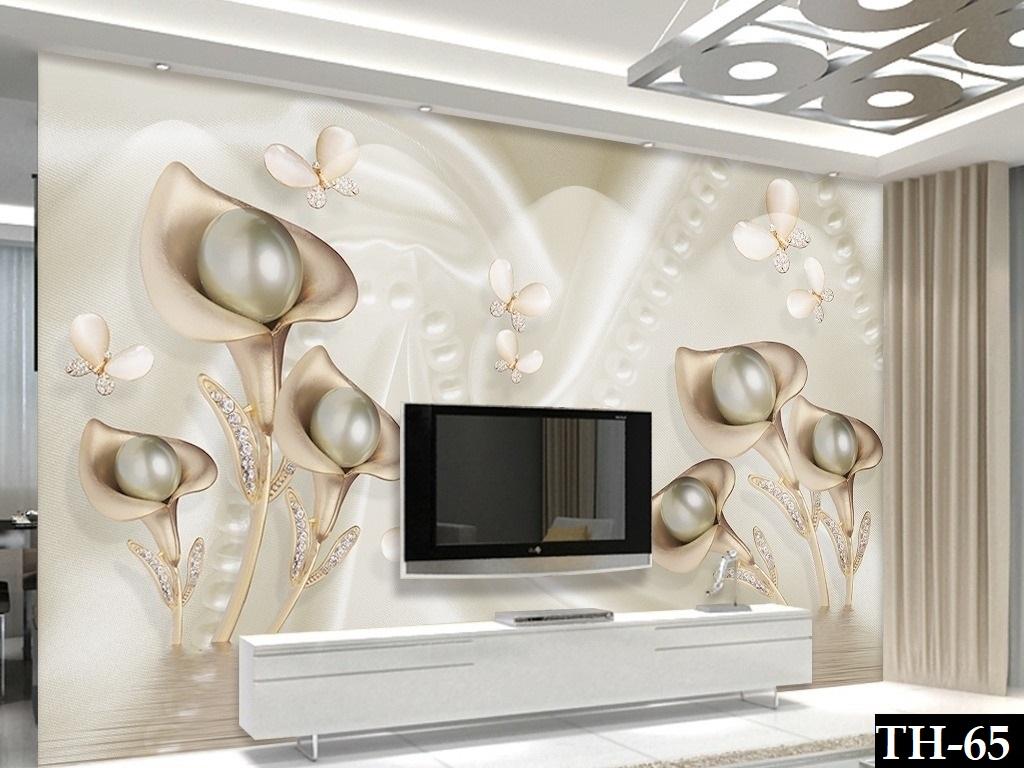 Dekoratif 3d Tv Arkasi Duvar Kagidi